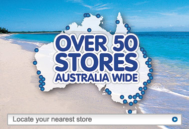 Over 50 Stores Australia Wide