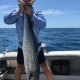 Mick Lawrance with a big Spanish mackerel