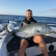 Tackle World's local hero Charles Warland - thumping GT on a popper