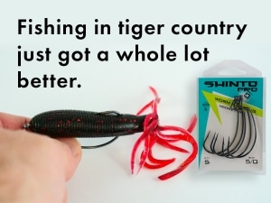 Fishing in Tiger Country Snag Tip