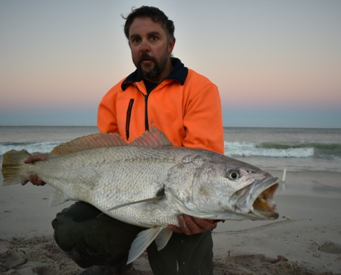 Tackle World's Local Hero Graeme Doodson and Mulloway