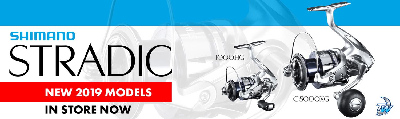 all new Shimano Stradic FL Reel