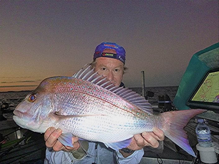Tackle World's local hero David with a plastic caught snapper