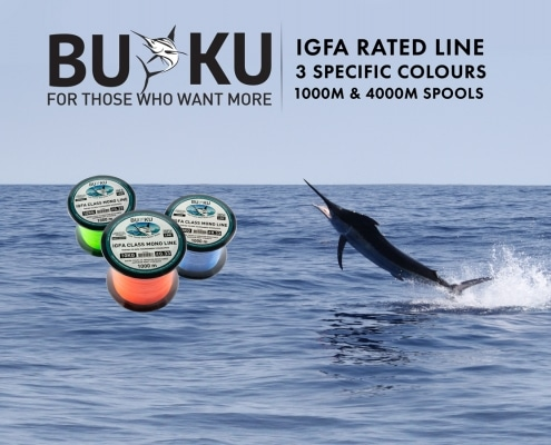 Buku Game Line now at Tackle World Australia
