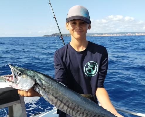 Tackle World's Local Hero Jye Spanish Mackerel