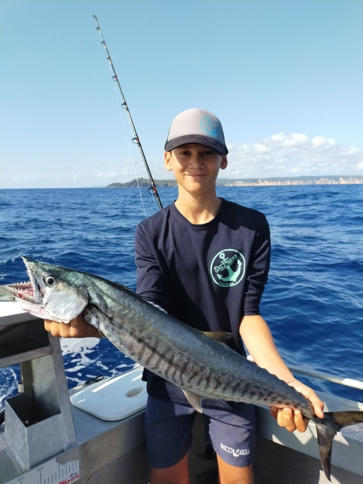 Tackle World's Local Hero Jye Spanish Mackerel