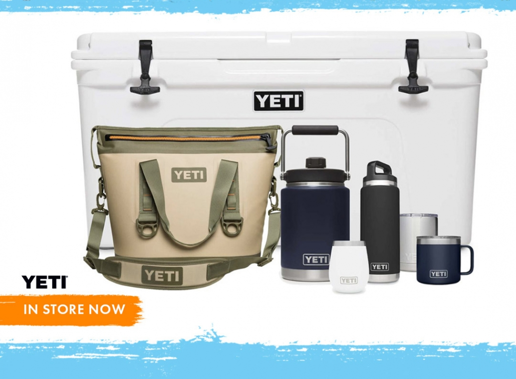 Yeti now in most Tackle World store