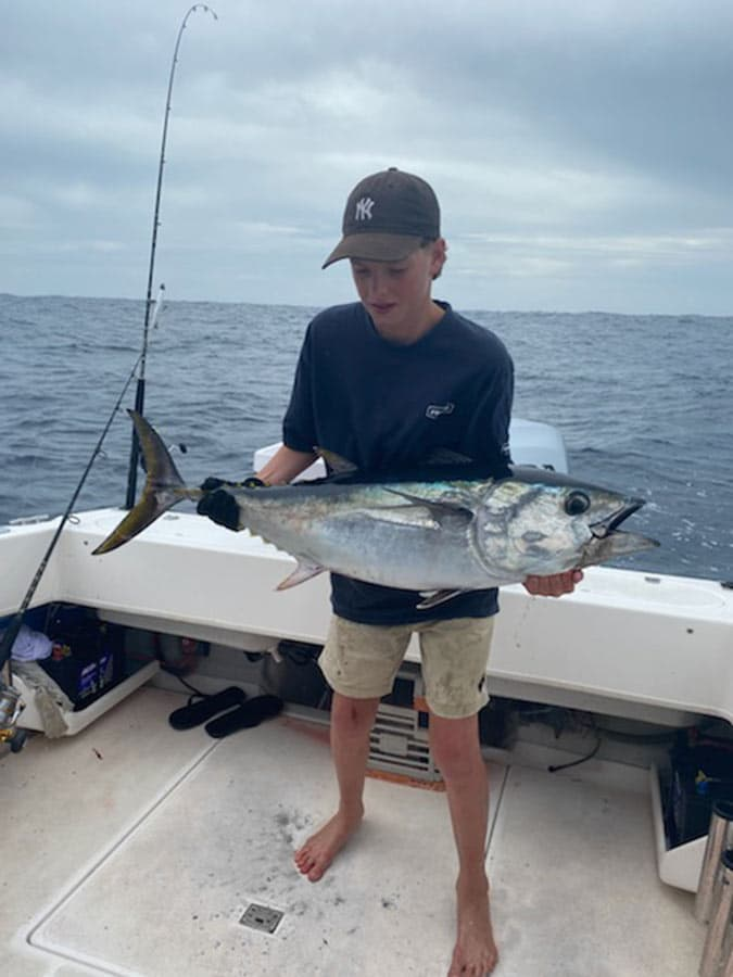 Tackle World's Local Hero Jack with Tuna