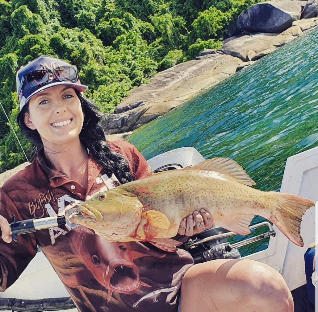 Tackle World's Local Hero Madeline & Coral Trout