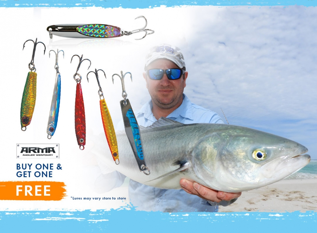 Arma Lures - Buy 1 get one FREE!