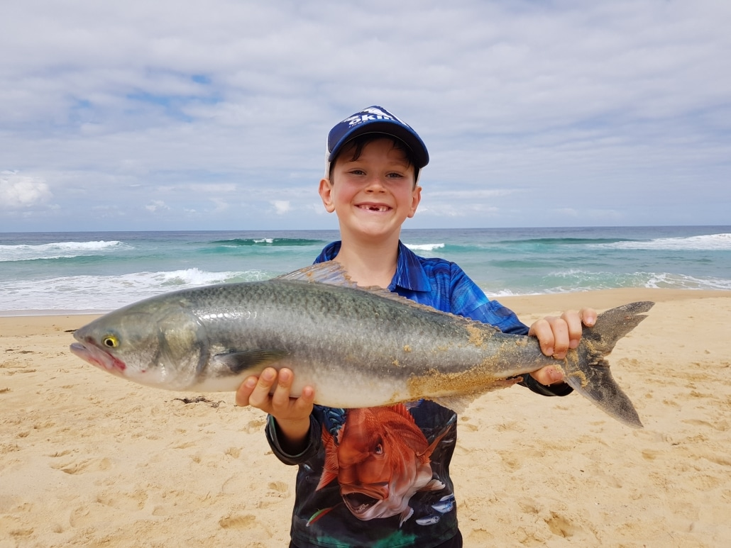 Tackle World's Local Hero Andy with a cracking Australian Salmon.