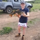 Tackle World's Local Hero Brock with a large 43cm Redfin