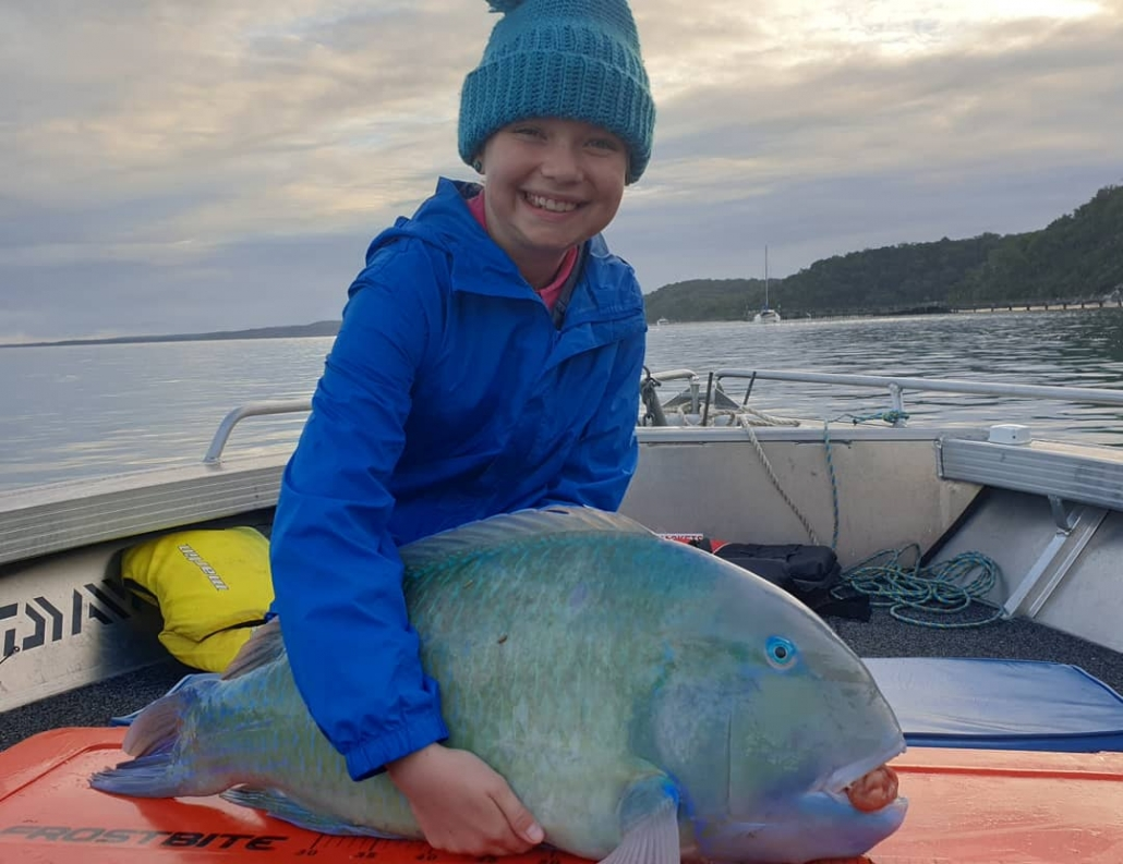 Tackle World's Local Hero Ellie and Tusk Fish