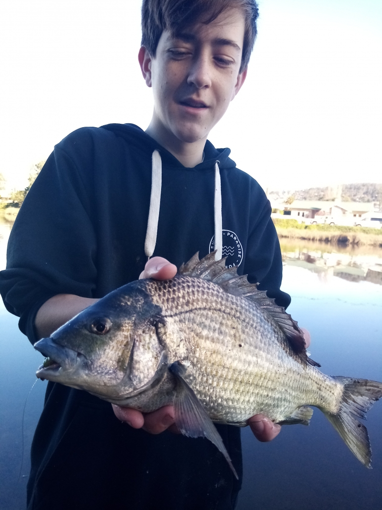 Tackle World's Local Hero Cameron & Bream