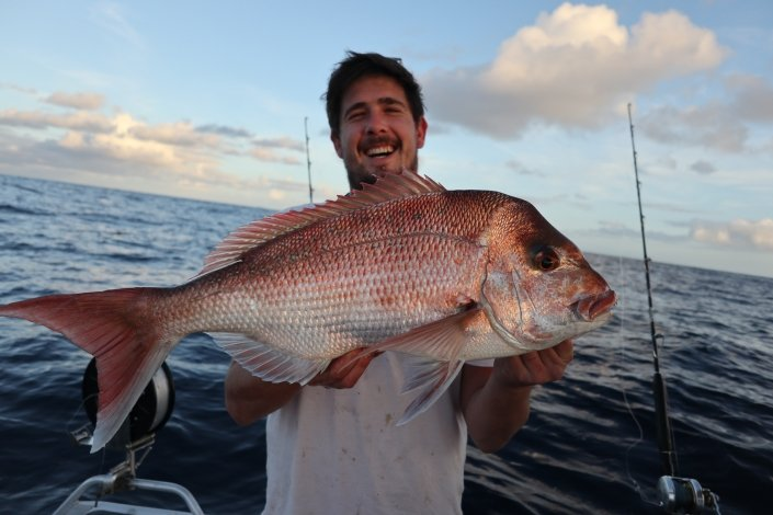 Tackle World's Local Hero Josh & Snapper