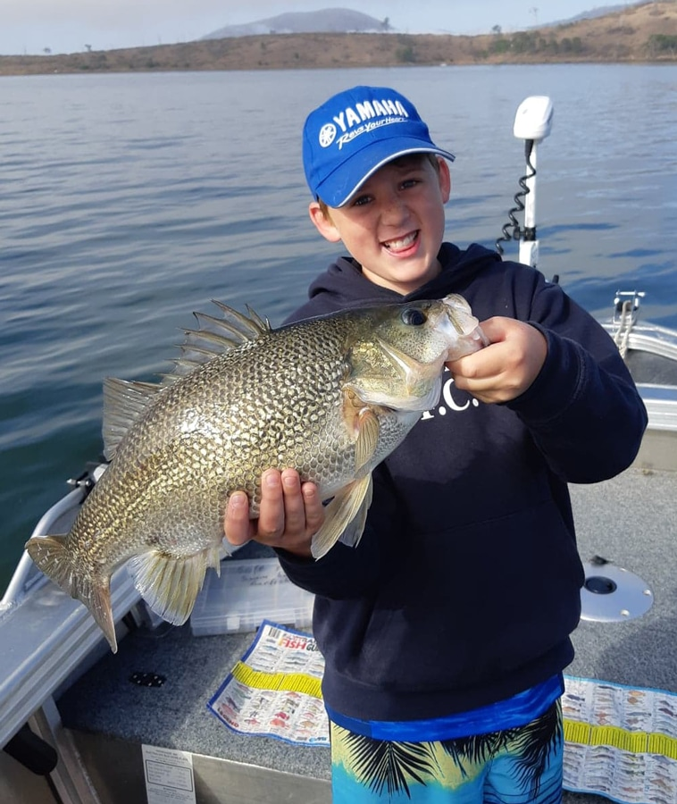 Tackle World's Local Hero Rhys with a big Bass