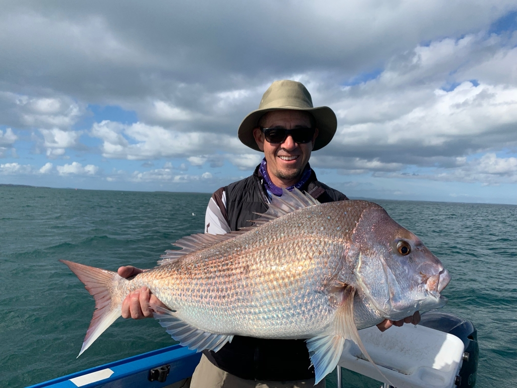 Tackle World's Local Hero Adam and Snapper