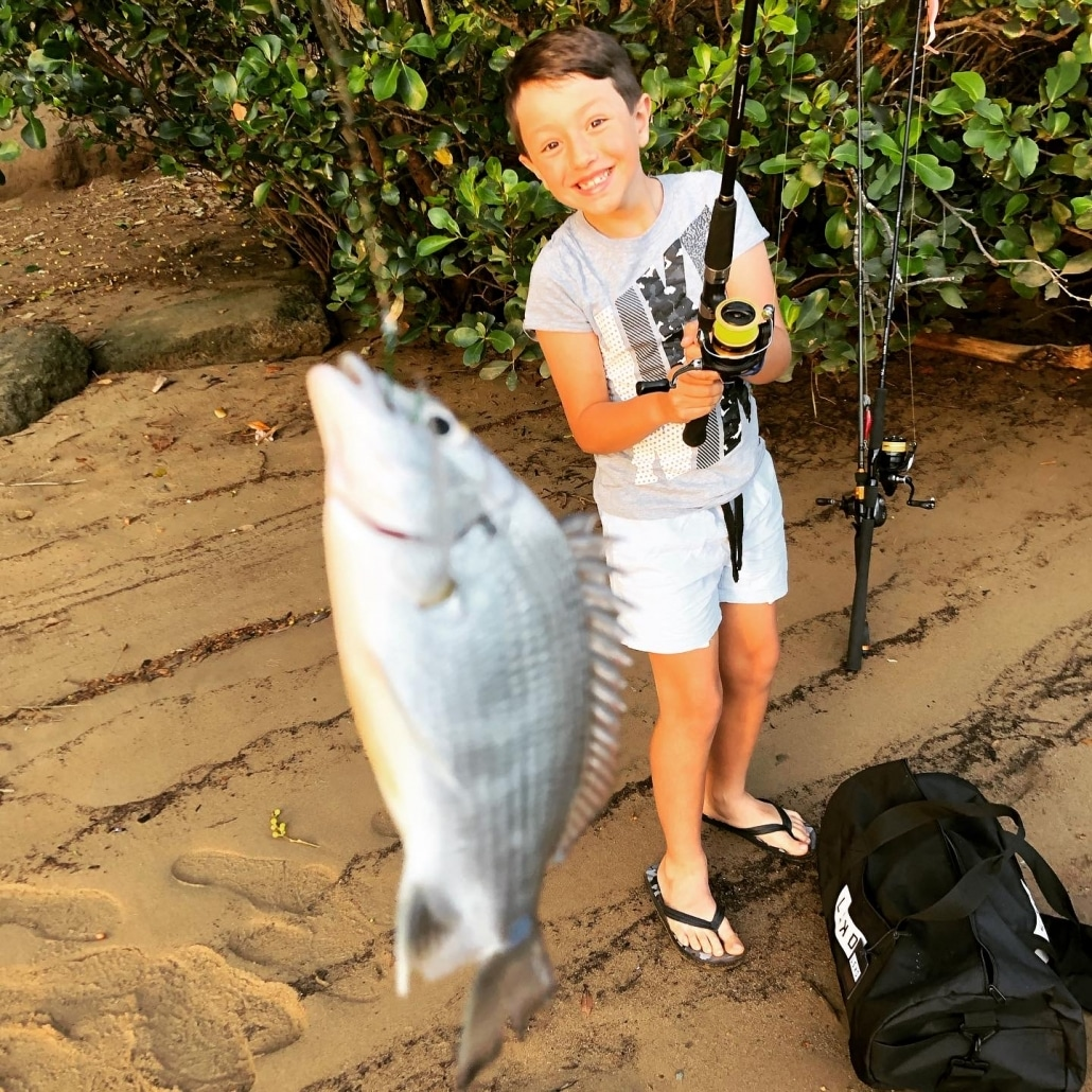 Tackle World's Local Hero Chris with Bream