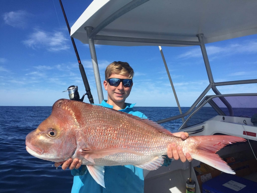 Tackle World's Local Hero Fraser and Snapper