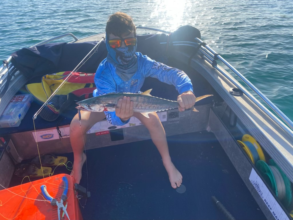 Tackle World's Local Hero Jake with a Spotty Mackerel