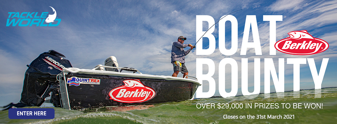 Tackle World Berkley Boat Bounty Competition